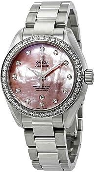 Omega Seamaster Aqua Terra Automatic Diamond Ladies Watch