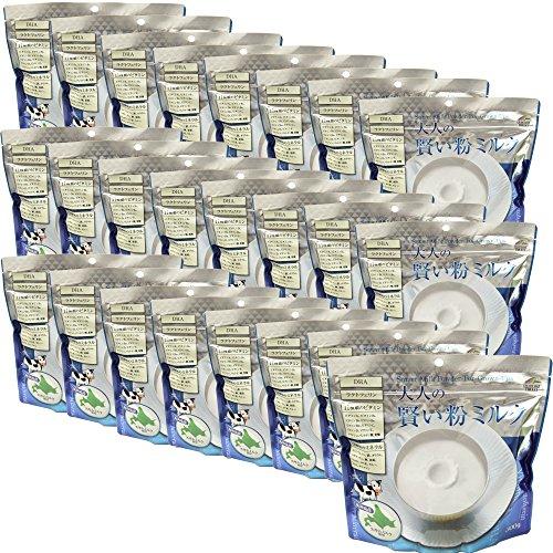大人の賢い粉ミルク1箱 24袋入り(300g×24)北海道産のスキムミルク使用、栄養サポートミルク 【栄養調整食品】【ユニマットリケン】
