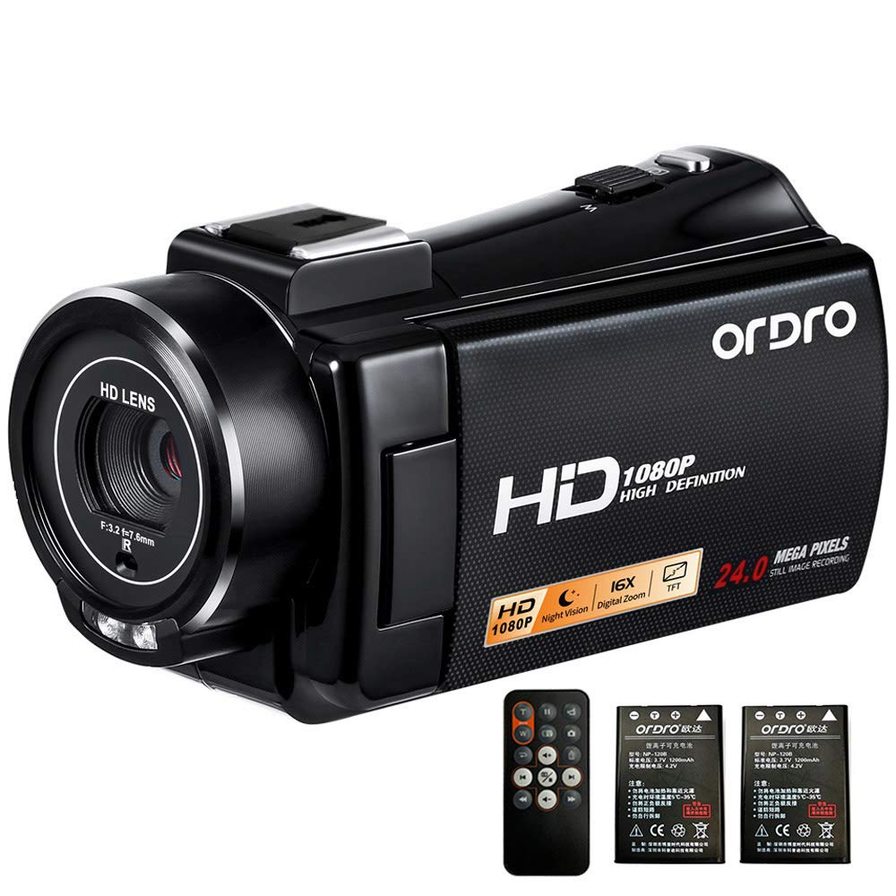 Camcorder ORDRO Recorder Camcorders Recording