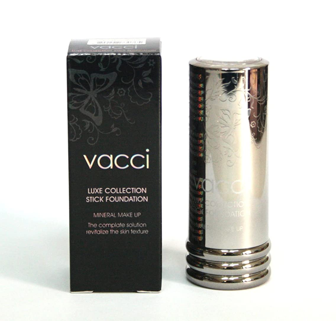ビリー遷移剪断[VACCI] スティックファンデーション13g / LUXE COLLECTION Stick Foundation 13g / に皮脂コントロール / sebum control / #33ダークベージュ / #33 Dark beige/ 韓国化粧品 / Korean Cosmetics [並行輸入品]