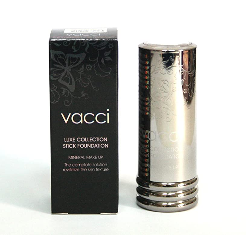 戦艦見捨てるシャッター[VACCI] スティックファンデーション13g / LUXE COLLECTION Stick Foundation 13g / に皮脂コントロール / sebum control / #33ダークベージュ / #33 Dark beige/ 韓国化粧品 / Korean Cosmetics [並行輸入品]