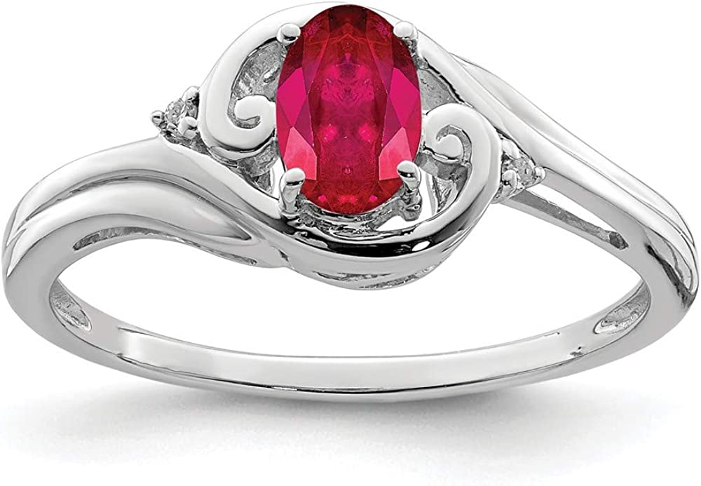 925 Sterling Mail order Silver Spring new work one after another Diamond Red Ruby Jew Gemstone Band Ring Fine