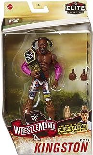 Kofi Kingston - WWE Elite Wrestlemania 36 Mattel Toy Wrestling Action Figure