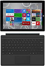 Microsoft Surface Pro 3 QL2-00015, 12-inch, Intel Core i5-4300U, 8GB RAM, 256GB SSD with Keyboard (Renewed)