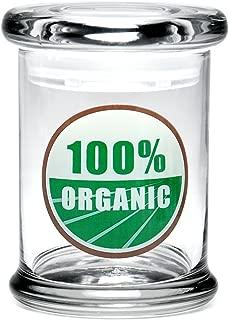420 Science Pop Top Stash Jar - 100% Organic (medium)
