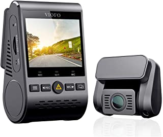 """VIOFO Dual Dash Cam A129 Duo Full HD 1080P Front and Rear Camera with GPS Wi-Fi Compact Design 2.0"""" LCD Display 140° Wide ..."""