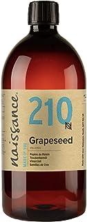 Naissance Huile de Pépins de Raisin (n° 210) - 1 litre - 100% naturelle, odeur neutre, huile légère, fine et soyeuse - pou...