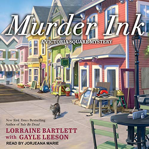 Murder Ink audiobook cover art
