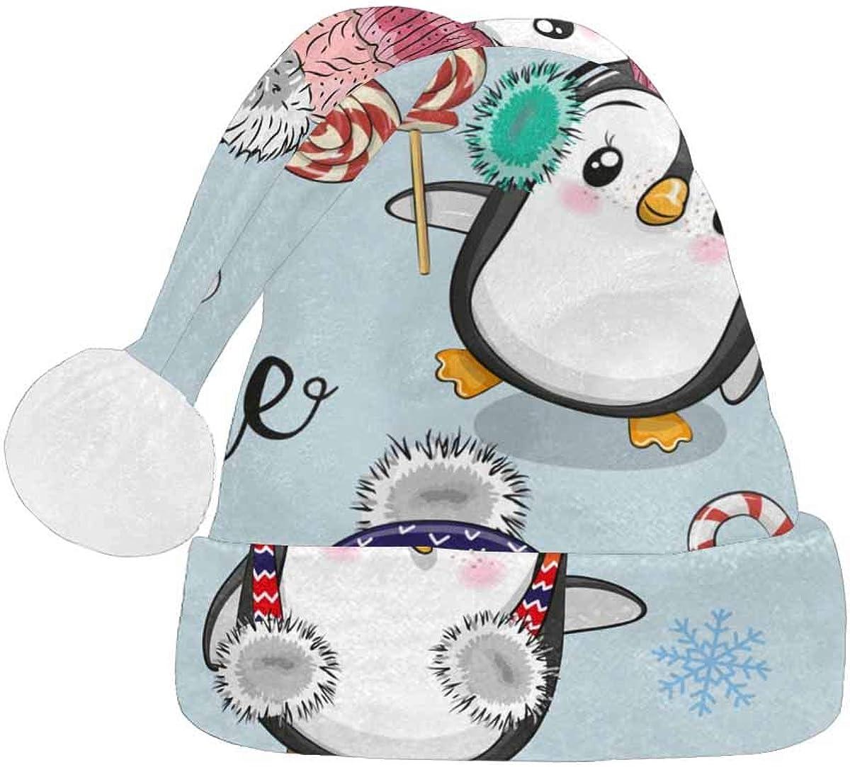 InterestPrint Christmas Santa Max 62% OFF Hat for Fashion New item Design Adults