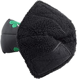 VGEBY1 Golf Head Covers, Golf Club Heads Protector PU Golf Putter Cubierta Verde Accesorio de Tapa de trébol de Cuatro Hojas para Actividad de Golf