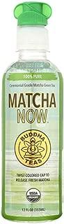 BUDDHA, Buddha Teas Matcha NOW Green Tea - 100% Pure - Case of 12 - 12 oz. - Pack of 12