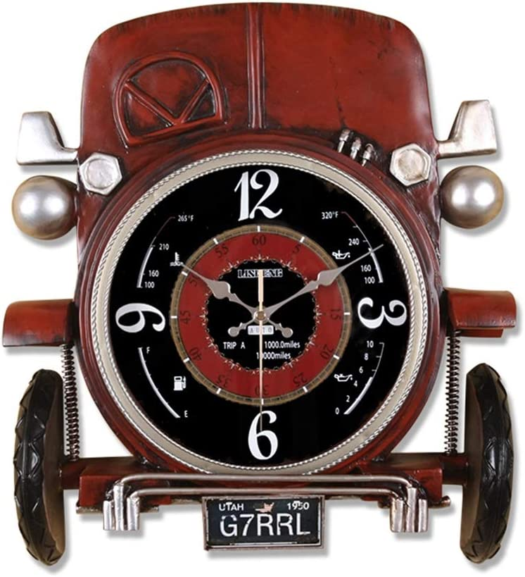 HYJ-Family Large discharge sale Clock Wall European Fashion Super intense SALE Clocks Clo and