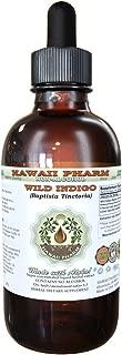 Wild Indigo Alcohol-FREE Liquid Extract, Wild Indigo (Baptisia Tinctoria) Dried Root Glycerite Natural Herbal Supplement, Hawaii Pharm, USA 2 fl.oz