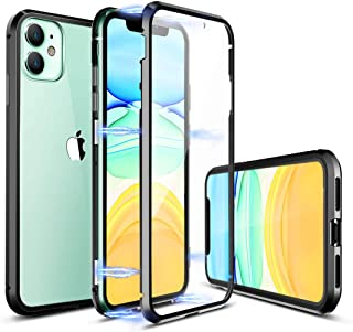 tempered glass magnetic phone case