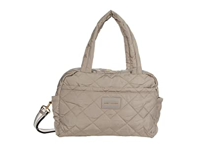 Marc Jacobs Quilted Nylon Medium Bag (Cement) Duffel Bags