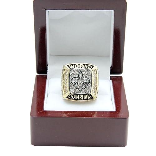 d14cc8307 New Orleans Saints 2009 NFL Super Bowl XLIV Championship Ring (Size 10-13)