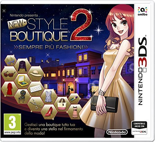 Nintendo New Style Boutique 2: Sempre più Fashion! - video games (Nintendo 3DS, Physical media, Lifestyle, Nintendo, 20/11/2015, PG (Parental Guidance)) by NINTENDO