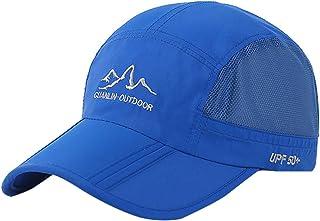 AIEOE Gorra para adultos, protección UV, gorra de béisbol, transpirable, gorra deportiva, protección solar, Snapback