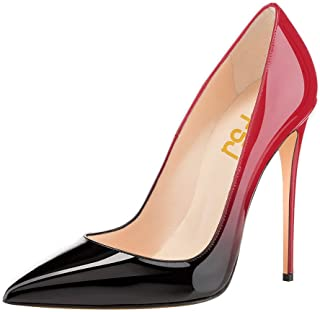 FSJ Women Formal Pointed Toe Pumps High Heel Stilettos...