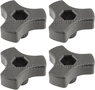 Black & Decker LE750 Replacement (4 Pack) Shaft Knob # 243550-00-4pk