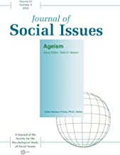 Ageism 2005 Vol. 61, No. 2 (Journal of Social Issues)