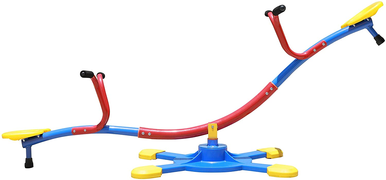 SLIDEWHIZZER Kids Outdoor Backyard an Swivels Seesaw: Max Sales 42% OFF Playground