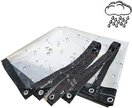 Pengfei Transparant dekzeil dekzeil dekzeil waterdicht buiten Greenhouse Tarp houten dekzeil meubelhoes nuttig als dekzeil...