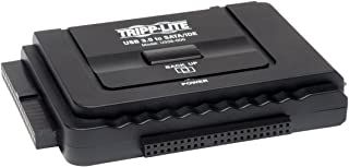 Tripp Lite USB 3.0 SuperSpeed to Serial ATA (SATA) and IDE Adapter for 2.5in or 3.5in Hard Drives(U338-000)