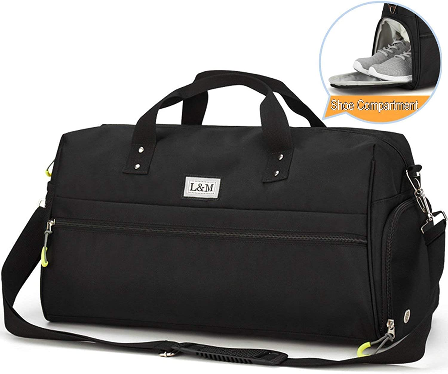 Casual Daypacks, Gym Duffel Bag Sports Travel Tote Bag Overnight for Men and Women with shoes Compartment, Wet Pocket, Waterproof (color   2)