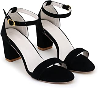 Miggler Women Stylish Fancy and comfort Trending Block Heel Fashion sandal