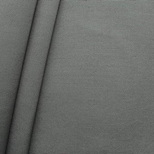 Outdoorstoff Zeltstoff Canvas Optik Meterware Grau
