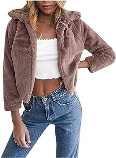 LEXUPA Women Winter Jacket Warm Thick Outerwear Coat Loose Long OvercoatCoats Outerwear Coat Hoodies Sweater Long Sleeve