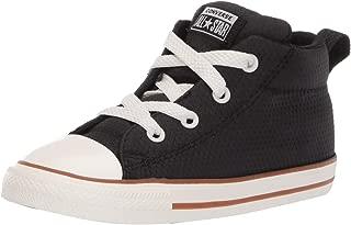 Kids Infants' Chuck Taylor All Star Street Pinstripe Mid Top Sneaker