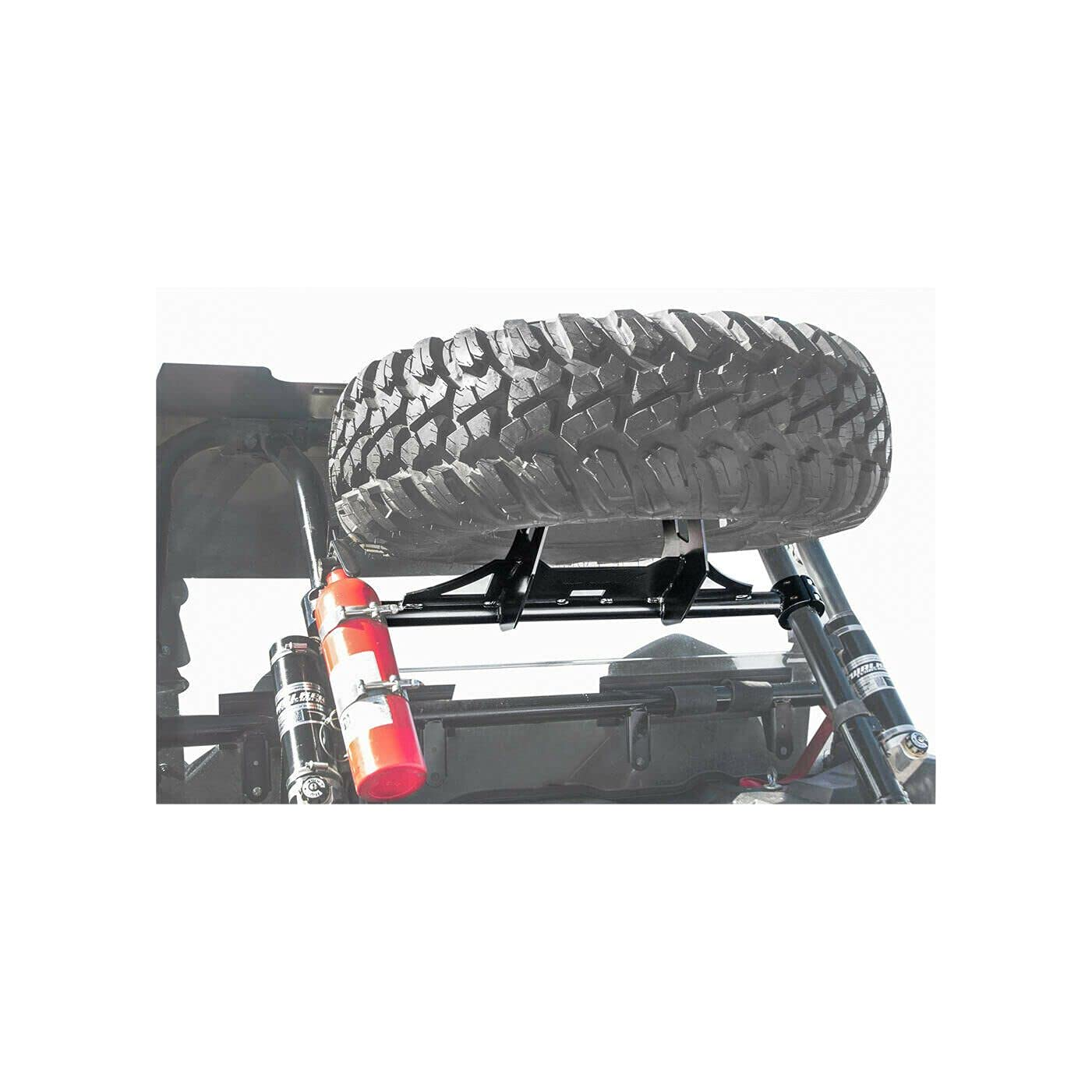 Free shipping Spare Tire Carrier Mount Rack for Turb XP forPolaris 1000 Weekly update RZR