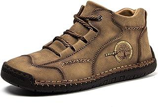 gracosy Chaussures Bateau Homme, Moccassins Suède à Lacets Chaussure de Ville Oxfords Derbys Soulier Confortable Marche Sp...