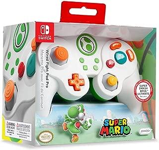 Nintendo 任天堂 Switch *马里奥兄弟路易吉GameCube 风格有线战斗垫 专业控制器 Yoshi