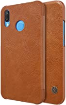 HUAWEI NOVA 3e / P20 Lite Nillkin Qin Leather Series case [Brown Color] BY ONLINEPHONE