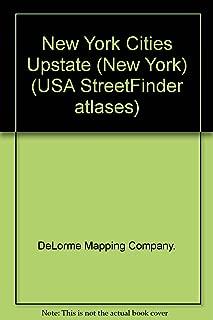 Upstate New York City Street Maps (USA StreetFinder Atlases)