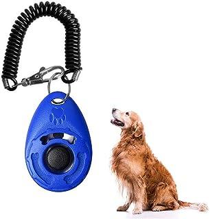 1 pièce Dog Training Clicker Portable Clicker de Dressage de Chaton léger avec dragonne pour Formation comportementale pou...