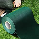 TYLife Single-Sided Artificial Grass Turf Tape,Self Adhesive Synthetic Turf Seaming Tape for Jointing Fixing Green Lawn Mat Rug,Connecting Fake Grass Carpet,6' x65.6'(15cm x 20m)