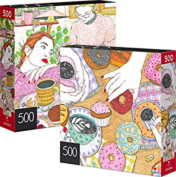 2-Pack Spin Master 500-Piece Jigsaw Puzzles