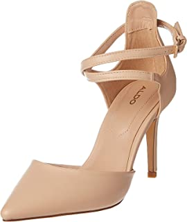 Aldo Thaecia Heel For Women, Tan, Size 41 EU