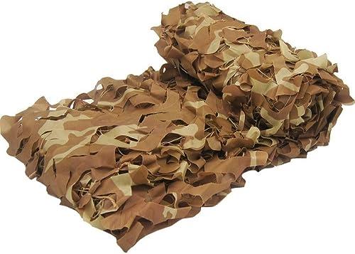 2m × 3m Oxford Drap de Camouflage en Tissu Désert, Champ Couverture de Camouflage Chasse Chasse Tir CS Caché Pêche Décoration Camping Fête Photographie (Taille   8x10m)