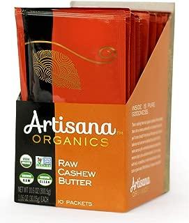 Artisana Organics Non GMO Raw Cashew Butter (10 Pack (1.06 oz))