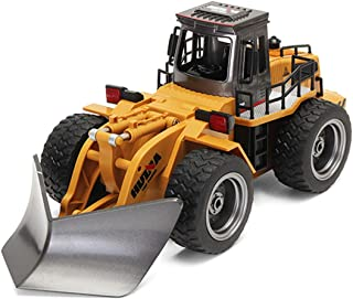 ICS CIS-1586 2.4 GHz 6 Channel Metal Alloy RC Snow Plow with Rechargeable Battery, Yellow
