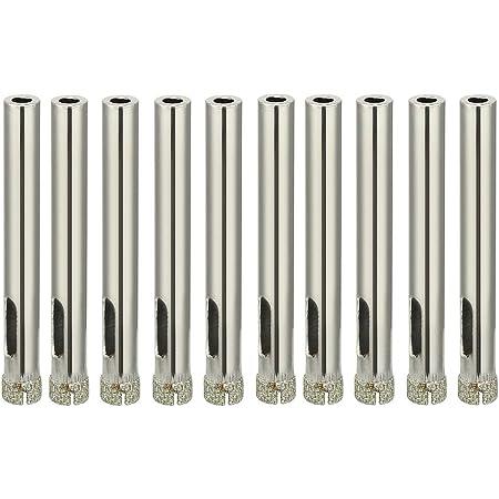 10 PCS 7mm Diamond Holesaw Drill Bits Kit For Tile Porcelain Marble Drilling