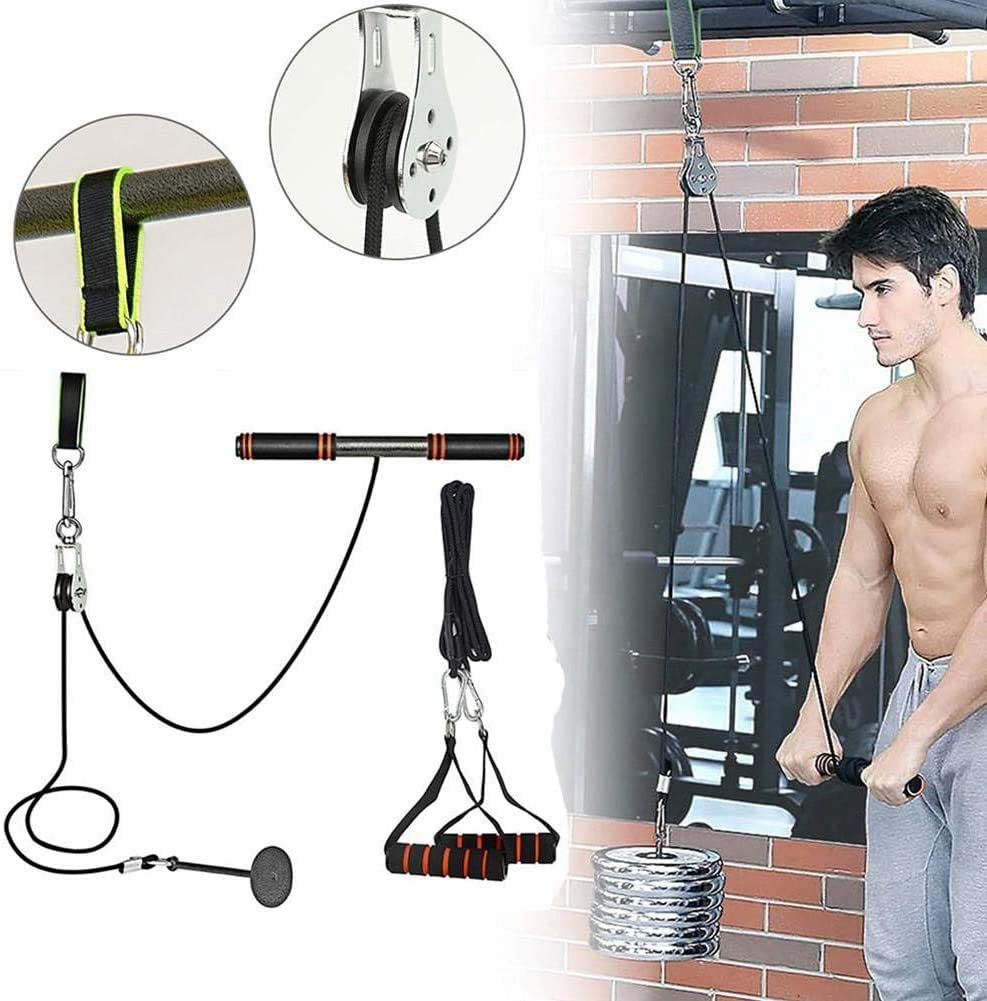 sold out CELLTEK Weight Pulley System 11pcs Chicago Mall Fitness Cable Syst DIY