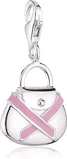 Thomas Sabo Charity Pink Ribbon Charm, Sterling Silver