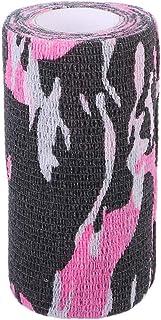 Baodanjiayou Vendas de camuflaje - 1 vendaje autoadhesivo para perros o veterinarios para caballos, vendaje de compresión autoadhesivo