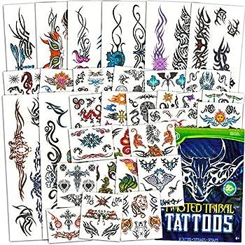 Tribal Tattoos Assortment ~ 2 Bags ~ 100 Assorted Designs